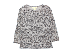 Soft Gallery t-shirt Bella owl drizzle