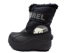 Sorel vinterstøvle Snow Commander black/charcoal