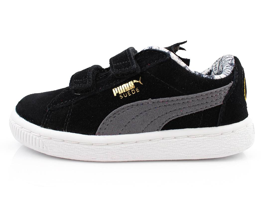 f91d3527df9e SS19. Puma Suede Batman sneaker black steel gray ...