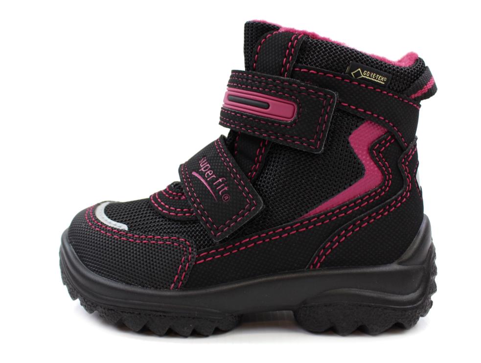63ec3bc3b8a Superfit vinterstøvler sort/pink til bred fod | 3-09030-02 Schwarz | str.  21-32 | 749,90.-