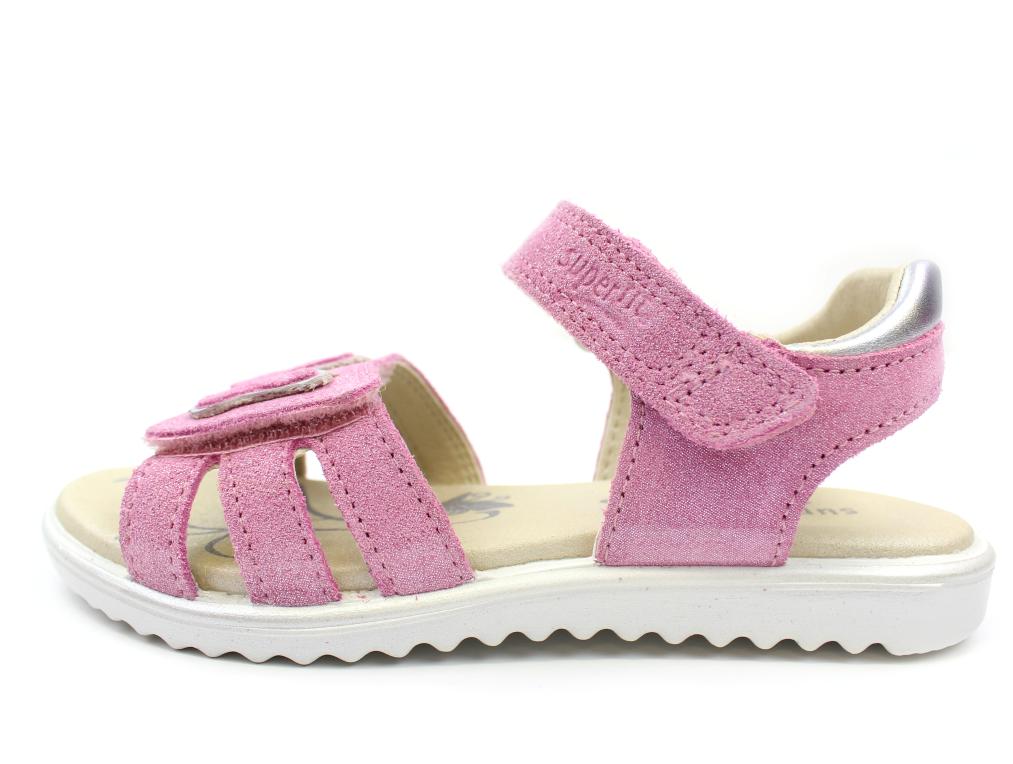 7a2bc18be6c3 sandal 90 Superfit med rosa glimmer sommerfugl599 SzpMqUVG