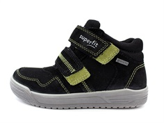 Superfit sneaker Earth schwarz/hellgrun med GORE-TEX