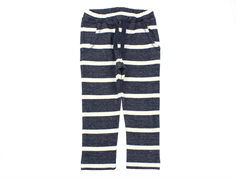 Wheat sweatpants Fritz navy striber