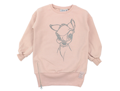 Wheat sweatshirt Bambi rose powder