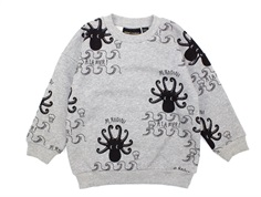 Mini Rodini sweatshirt octopus grå