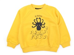 Mini Rodini sweatshirt octopus gul