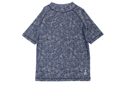 Wheat bade t-shirt Jackie navy UV
