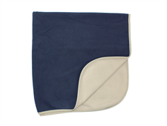Ver de Terre fleece blanket navy mocca