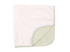 Ver de Terre fleece blanket rose powder