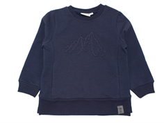 Wheat sweatshirt Mountains navy