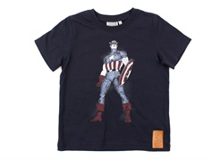 Wheat t-shirt Captain America midnight blue