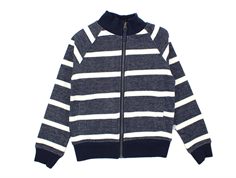 Wheat Bartel sweat cardigan navy stripes