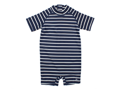 Wheat Cas badedragt stripes navy