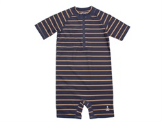 Wheat badedragt Cas midnight blue stripe striber