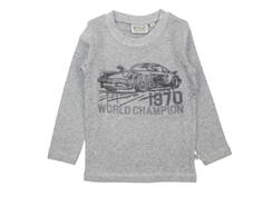 Wheat t-shirt melange grey world champion