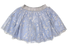 Wheat Cinderella Tulle skirt air silver
