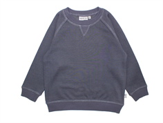 Wheat Elvis sweatshirt grey blue melange