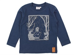 Wheat t-shirt Frozen midnight navy reflective