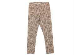 Wheat leggings fawn flowers