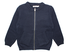 Wheat Kris cardigan navy