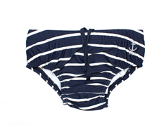 Wheat Magnus badebukser stripes navy UV