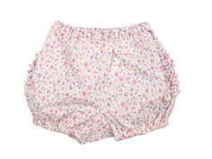 Wheat Nappy shorts eggshell rosa blomster
