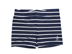 Wheat Niki badebukser stripes navy UV