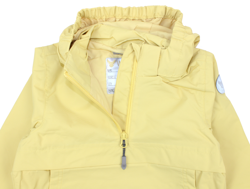 3e0d577c Wheat Noor anorak jakke | Straw | UDSALG