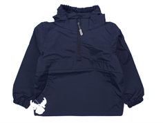 Wheat Noor anorak navy