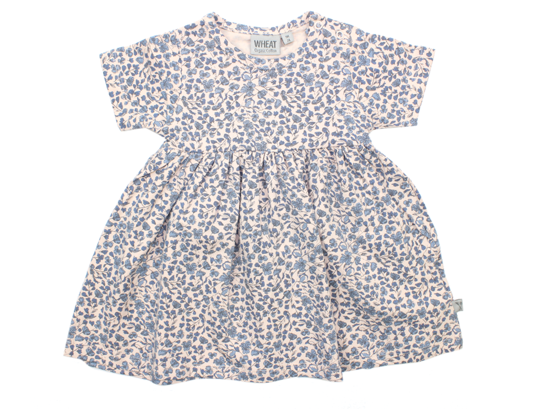 8f3472b7b Wheat Nova kjole powder blomster