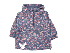 Wheat anorak Ziggy grisaille med blomster