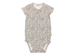 Wheat body ivory med blomster