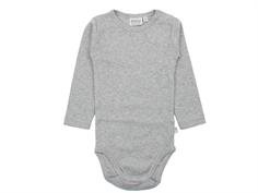 Wheat body melange grey plain