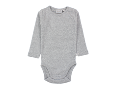 Wheat body rib melange grey