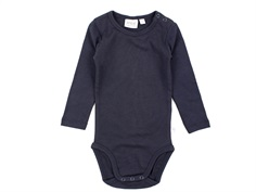 Wheat body rib midnight blue