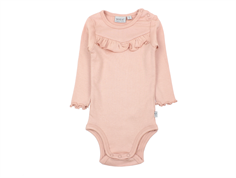 Wheat body rib misty rose