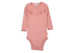 Wheat body rib soft rouge