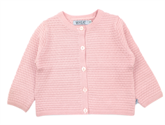 Wheat cardigan Betty strik soft rose