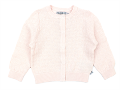 Wheat cardigan Cecilie soft rose