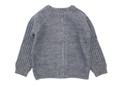 Wheat cardigan Julian melange grey