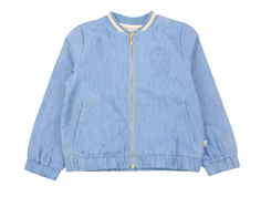Wheat cardigan/bomber Marie jakke blue denim