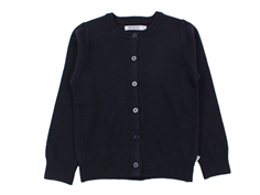 Wheat cardigan Vicky midnight blue