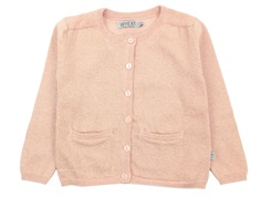 Wheat cardigan Ibi misty rose glitter