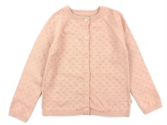 Wheat cardigan Maja misty rose
