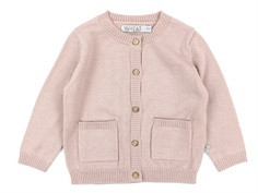 Wheat cardigan Skye rose powder uld