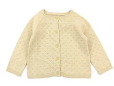 Wheat cardigan Maja soft beige