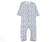 Wheat jumpsuit Theis ivory med fisk