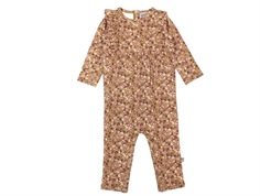 Wheat jumpsuit Kira caramel flowers