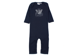 Wheat jumpsuit polar bear navy
