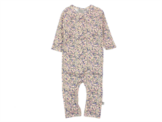 Wheat jumpsuit soft lavender blomster